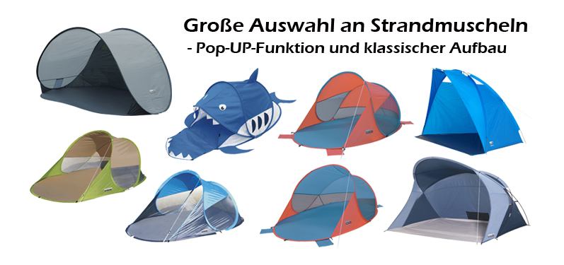 Pop-Up-Strandmuscheln